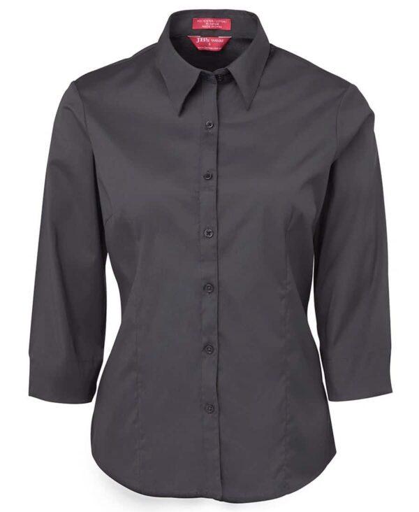 JBs Workwear Ladies Urban 3/4 Poplin Shirt