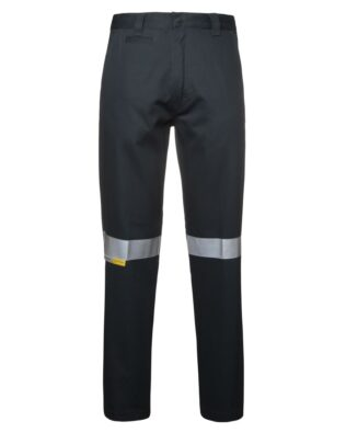 JBs Workwear M/Rised Work Trouser With Reflective Tape
