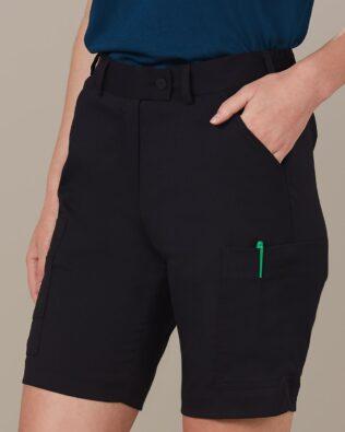 Benchmark Ladies Utility Cargo Shorts