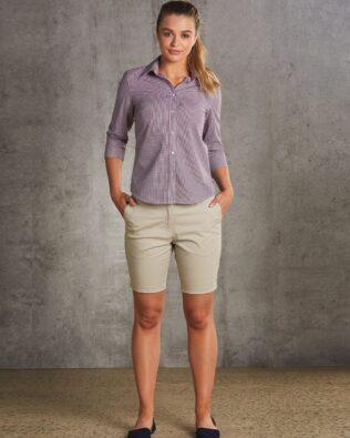 Benchmark Womens Chino Shorts