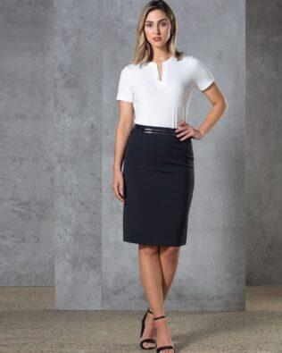 Benchmark Ladies Twill Stretch Utility Skirt