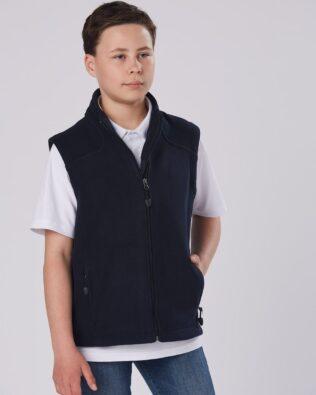 Winning Spirit Kids Diamond Fleece Vest
