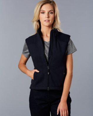 Winning Spirit Ladies Diamond Fleece Vest
