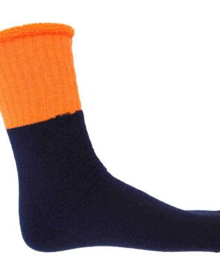 DNC HiVis 2 Tone Woolen Socks – 3 pair pack