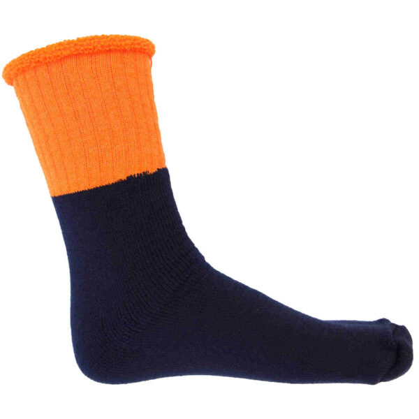 DNC HiVis 2 Tone Woolen Socks - 3 pair pack