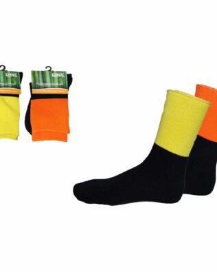 DNC Extra Thick Hi-Vis 2 Tone Bamboo Socks