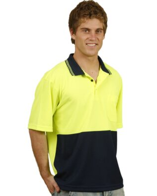 AIW Workwear High Visibility Short Sleeve Polo