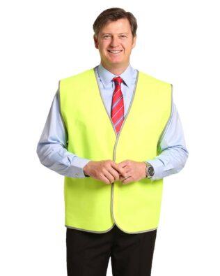 AIW Workwear Adult Hi-Vis Safety Vest