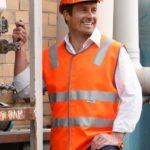 AIW Workwear Hi-Vis Reflective Tape Safety Vest