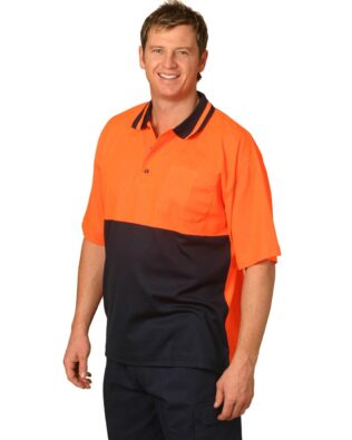 AIW Workwear Short Sleeve Safety Polo