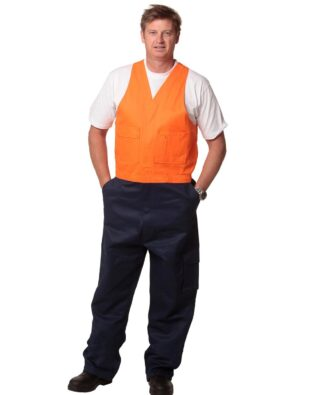 AIW Workwear Mens Overall Stout Size