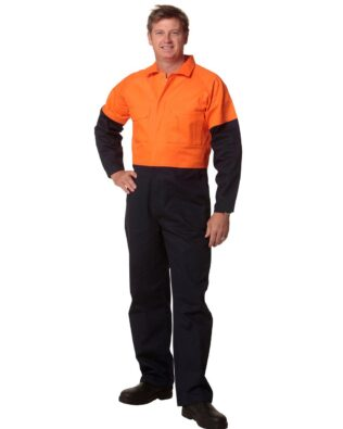 AIW Workwear Mens Two Tone Coverall Regular Size