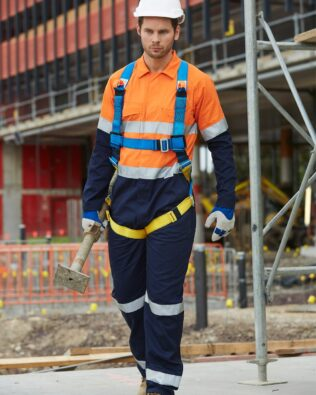 AIW Workwear Mens Two Tone Coverall
