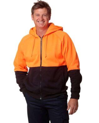 AIW Workwear Hi-Vis Two Tone Fleece Hoodie