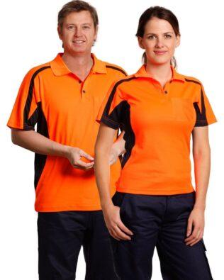 AIW Workwear Unisex Hi-Vis Fashion Polo