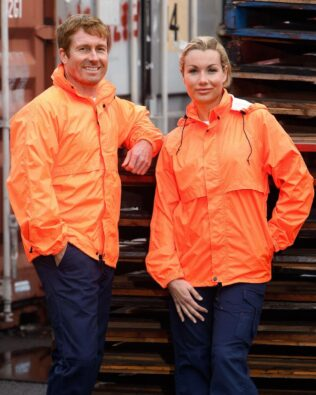 AIW Workwear Hi-Vis Spray Jacket