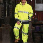 AIW Workwear Hi-Vis Safety Jacket