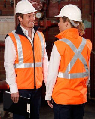AIW Workwear Hi-Vis Reversible Safety Vest
