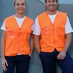 AIW Workwear Hi-Vis Safety Vest with ID Pocket