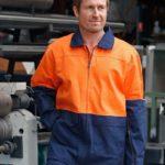 AIW Workwear Hi-Vis Cotton Jacket
