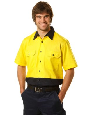 AIW Workwear Short Sleeve Safety Shirt