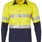 AIW Workwear Long Sleeve Safety Shirt