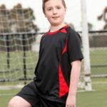 Campus Spirit Kids Shoot Soccer Tee
