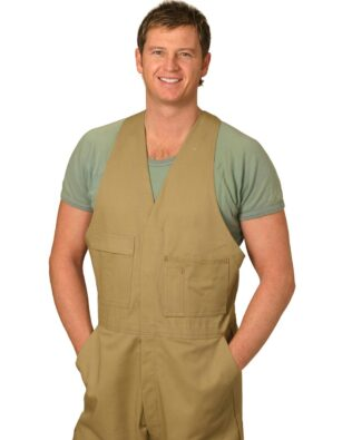 AIW Workwear Mens Action Back Overall Regular