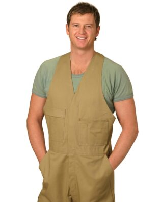 AIW Workwear Mens Action Back Overall Stout