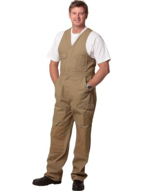 AIW Workwear Mens Durable Action Back Overall