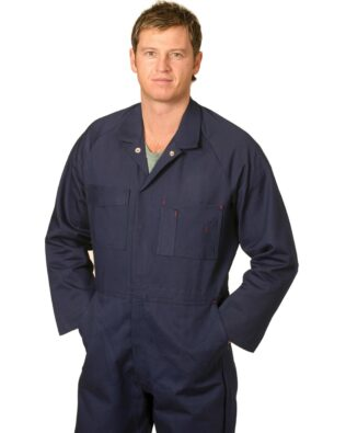 AIW Workwear Mens Coverall Stout Size