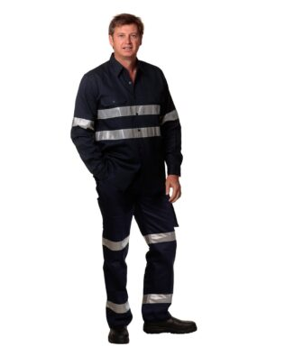 AIW Workwear Pre-Shrunk Drill Pants With Biomotion 3M Tapes Regular Size