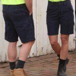 AIW Workwear Cordura Semi-Fitted Work Shorts