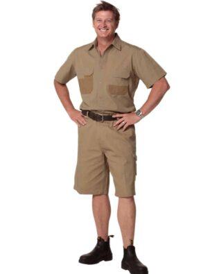 AIW Workwear Durable Short Sleeve Work Shirt