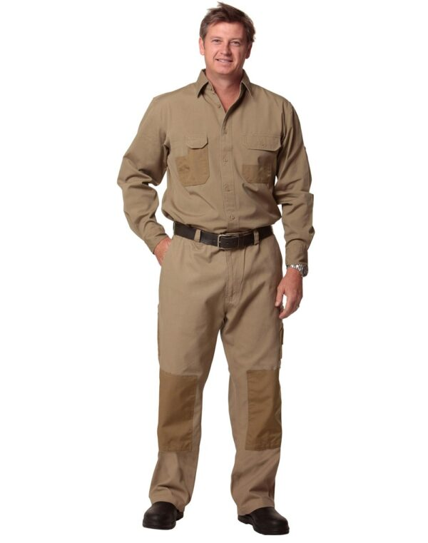 AIW Fine Duck Weave Dura-Wear Long Sleeve Work Shirt